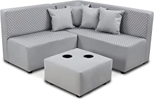 Kangaroo Trading Co. Kid's Sectional Set Upholstered