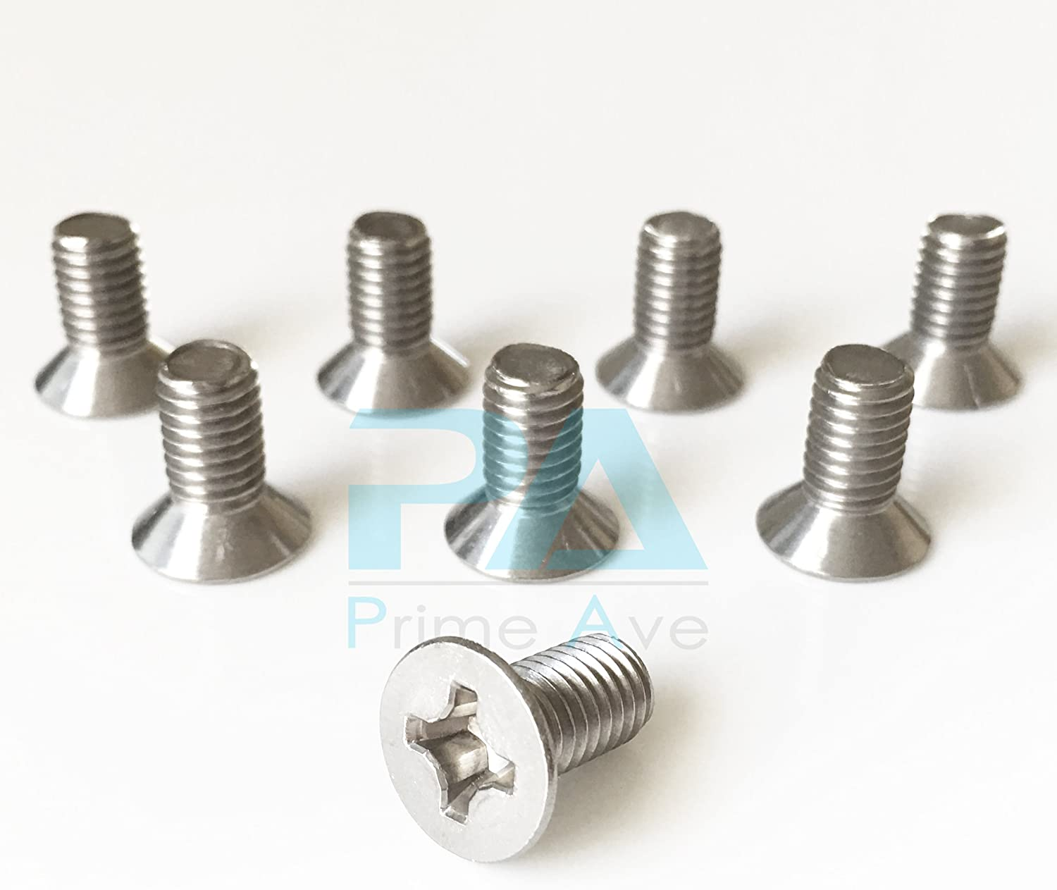 Prime Ave Stainless gift Steel Brake Re Surprise price Compatible Screws Rotor Disc