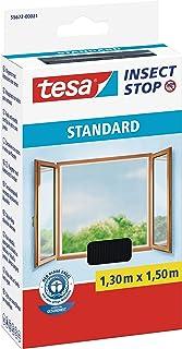 TESA 55672-00021-02 - Malla Standard para ventanas, Negro,