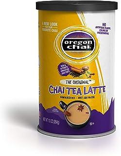 Oregon Chai Original Chai Tea Latte Powdered Mix 10-Ounce Containers , Powdered Spiced Black Tea Latte Mix For Home Use, C...
