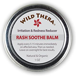 Wild Thera Natural Herbal Rash Anti Itch Cream & Bug Bite Relief. For Jock Itch, Antifungal, Ringworm Treatment, Athletes Foot Itch Relief, Poison Ivy/Oak, Skin fungus, Eczema, Dermatitis, Shingles.