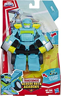 Playskool Heroes Transformers Rescue Bots Academy Hoist Converting Toy Robot, 6