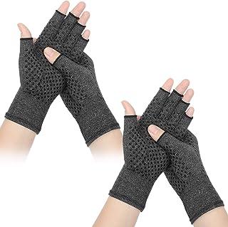 2 Paare Arthritis Kompression Handschuhe Unisex Druck Handschuhe Atmungsaktiv..