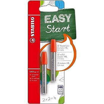STABILO EASYergo 3.15 6er Nachfüllminen Druck-Bleistift Minen HB Nachfüll Pack