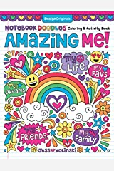 Notebook Doodles Amazing Me: Coloring & Activity Book Paperback