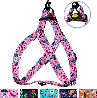 Best pink flower dog harness Reviews