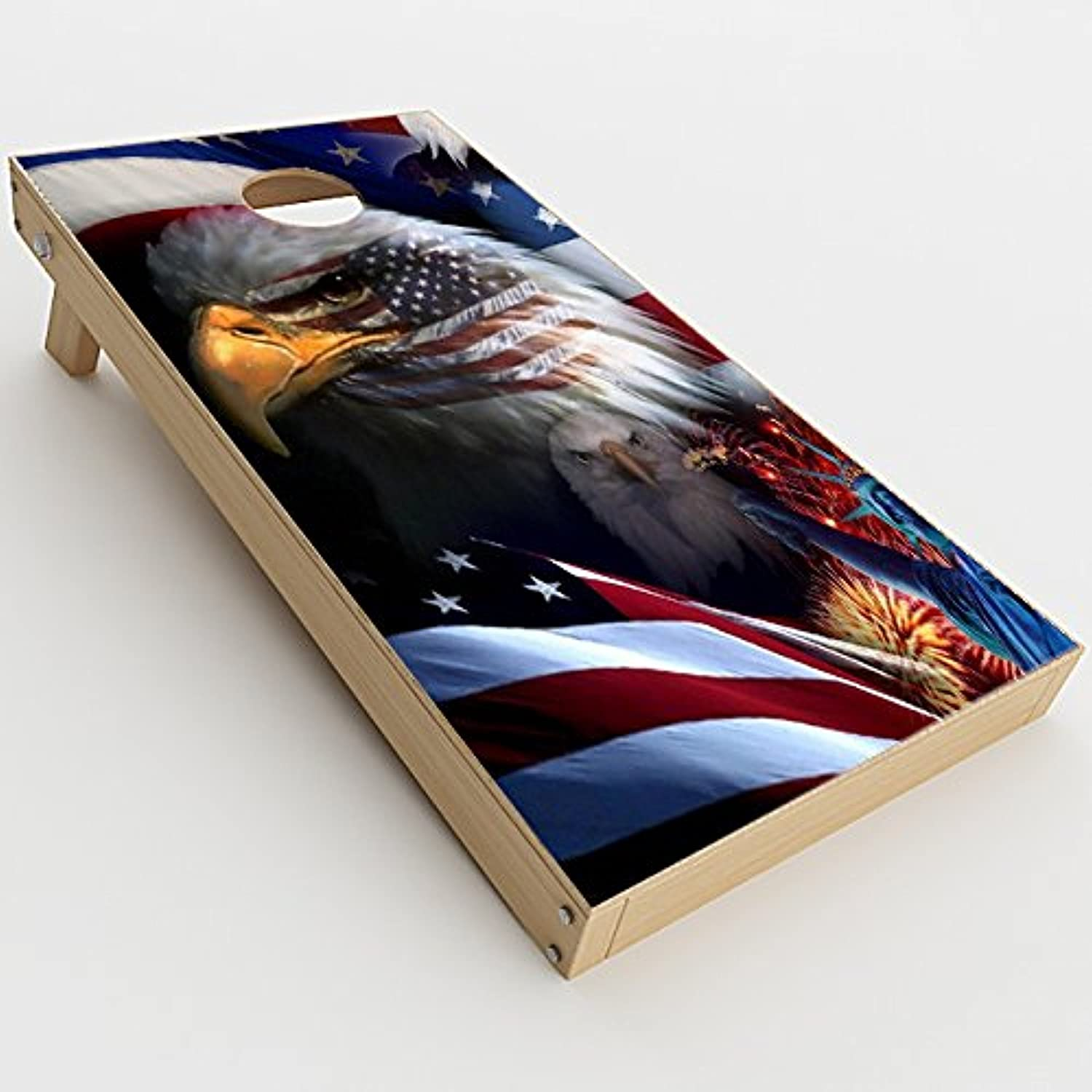 Skin 2021new shipping free Decals Vinyl Wrap for Cornhole Bag Toss Board Manufacturer OFFicial shop 2xpcs. Game