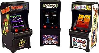 Tiny Arcade Set of 3 - Frogger Galaga Dig Dug, Multi