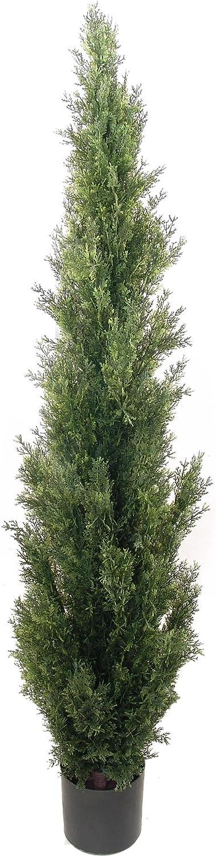 Larksilk 5' Cedar Topiary Austin Mall Artificial Genuine Free Shipping Topiar Outdoor Plant - Tree