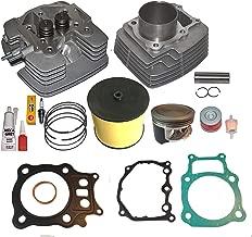 Fits Honda Rancher Trx350 TRX 350 Big Bore 355cc Cylinder Head Piston Kit 2000-2006