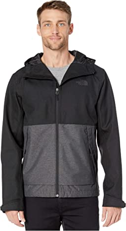 TNF Black Herringbone/TNF Medium Grey Heather Dobby