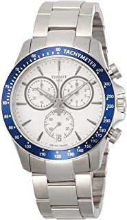 Tissot Men's Quartz Watch with Stainless-Steel Strap, White, 21 (Model: T1064171103100