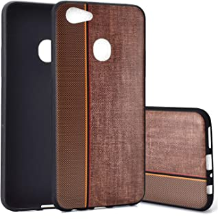 fitmore Oppo F5 A73 A79 Case, Anti-Scratch, Shockproof Skins, Excellent Grip Case Ultra Thin and Slim Back Case Carry Case Cell Phone Cases - Brown