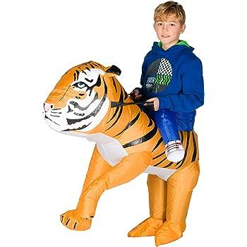 Bodysocks® Disfraz Hinchable de Tigre Niño: Amazon.es: Juguetes y ...