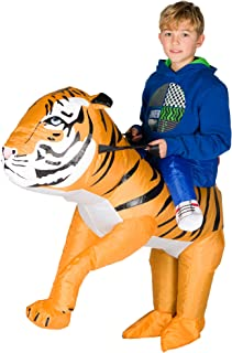 Inflatable Tiger Fancy Dress Costume