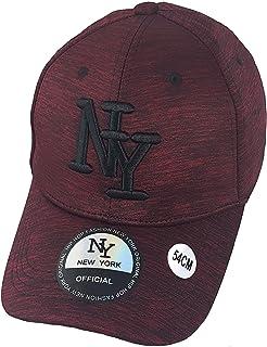 new product d7026 fe900 New York Casquette NY Enfant Hip hop Fashion Casquette avec visière  Arrondie Couleur aux Choix réglable