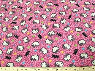 Best hello kitty fleece fabric Reviews