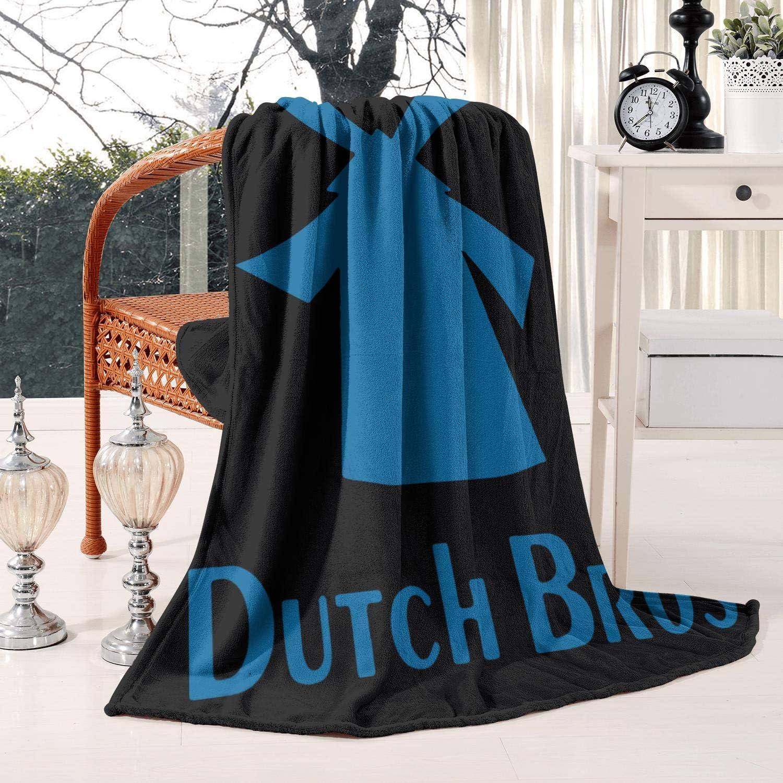 LSHOEJFVG Dutch-Bros-Coffee-Logo- 60X80 Inch Flan Fleece Blanket Super popular specialty store All items in the store