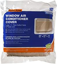 Frost King 2-Piece Quilted Indoor Air Conditioner Cover, Large, fits units up to 20