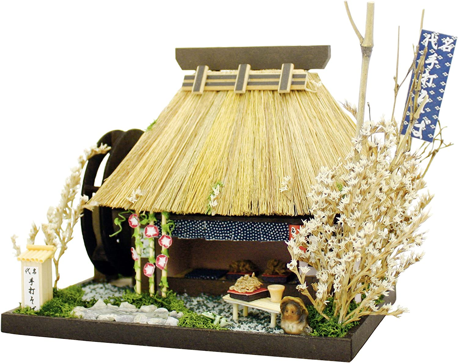 Billy handmade doll house kit Thatched House Kit noodle shop 8442 (japan import)