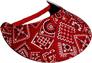 The Incredible Sunvisor Assorted Novelty Patterns Perfect for Summer! Made in The USA!!