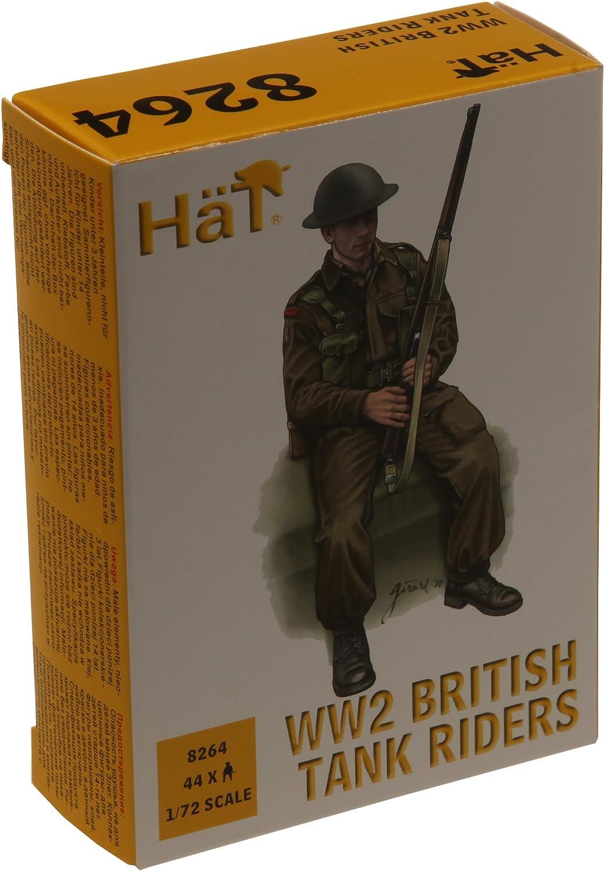 Hat 1 72 WWII British Tank Riders HAT8264 Brand New