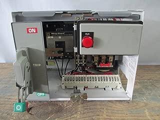 Square D Model 6 Size 1 3 A FHP Breaker MCC Bucket 3 Amp Mod 6 MCCB Sz1 12 SqD