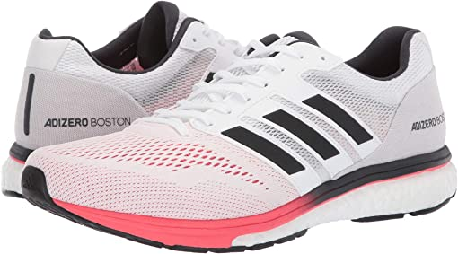Footwear White/Carbon/Shock Red