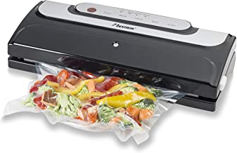 Bestron Automatisch vacuümapparaat voor langer houdbare gerechten, 140 watt, zwart