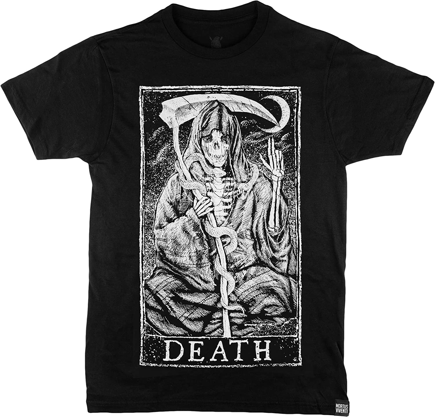 Mortus Viventi Year-end annual account Tarot Card T-Shirts 12 - Design Shirts Factory outlet
