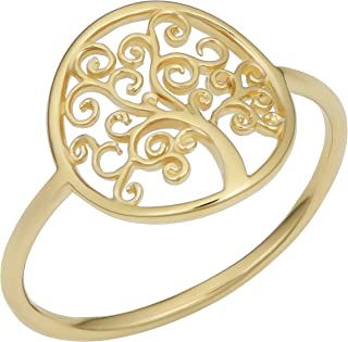 Best tree of life ring gold Reviews
