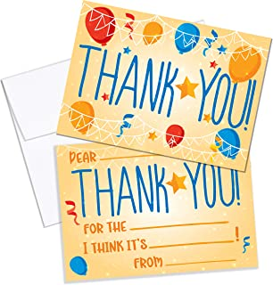 Best thank you note for kid birthday party Reviews
