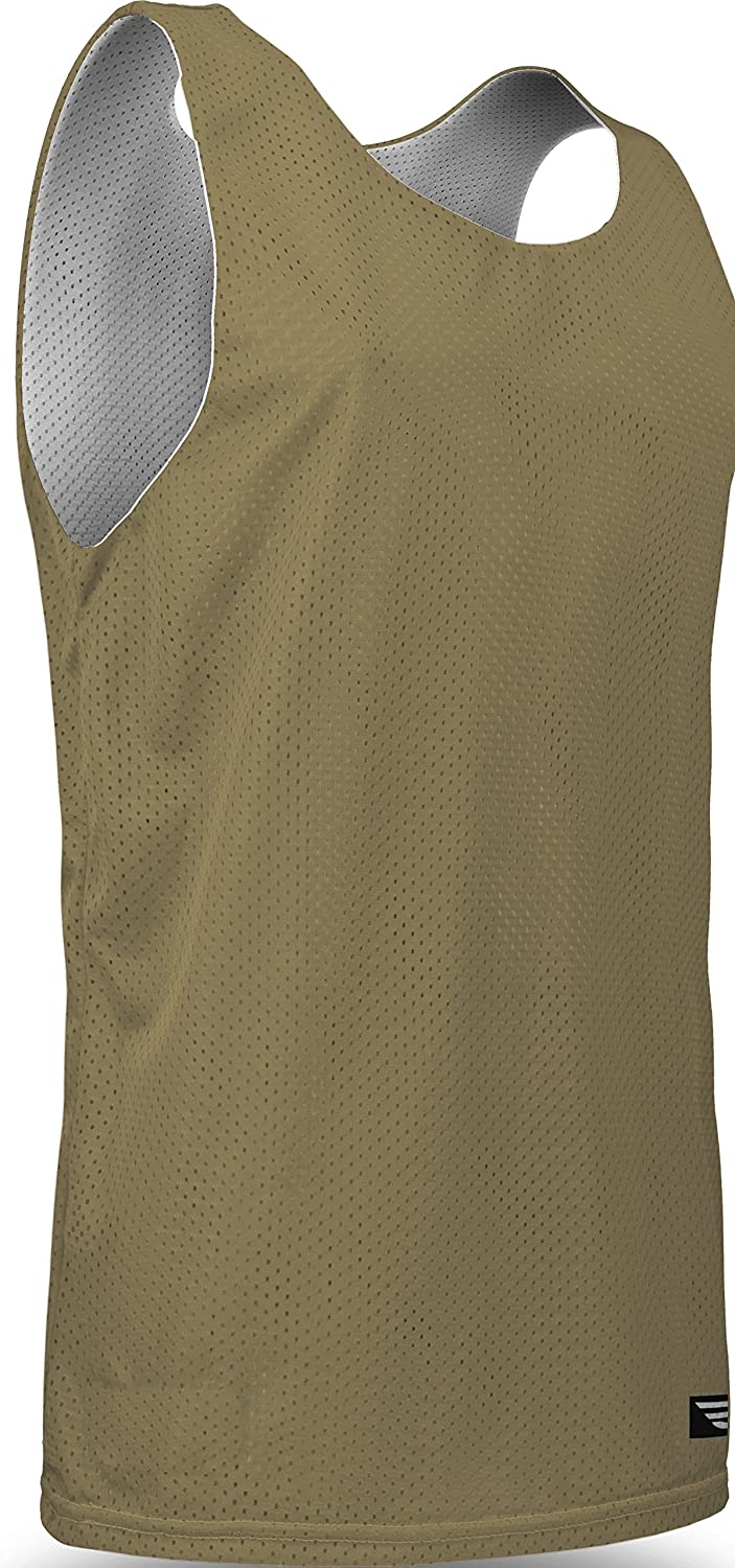 Basketball//Gym Tank Top for Men and Boys Game Gear Reversible Mesh Workout Jersey 15 Colors