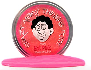 Crazy Aarons Hot Pink Primary Thinking Putty, Multi-Colour, 4 Inch, HP020