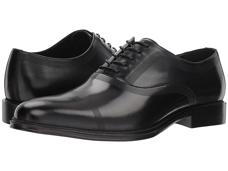 Kenneth Cole Reaction Zac Lace-Up B (Black Leather) Men