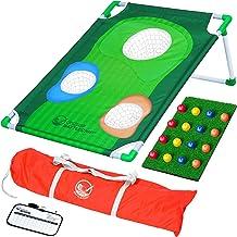 بازی GoSports BattleChip Backyard Golf Cornhole | شامل Chipping Target ، 16 Ball Foam ، Hitting Mat و Carrying Case