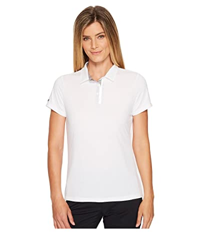 SKECHERS GO GOLF Pitch Short Sleeve Polo (White) Women