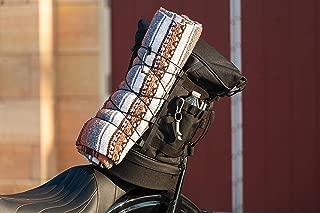 Kuryakyn 5282 Momentum Freeloader Expandable Motorcycle Travel Luggage: Weather Resistant Duffle Bag with Sissy Bar Straps, Black