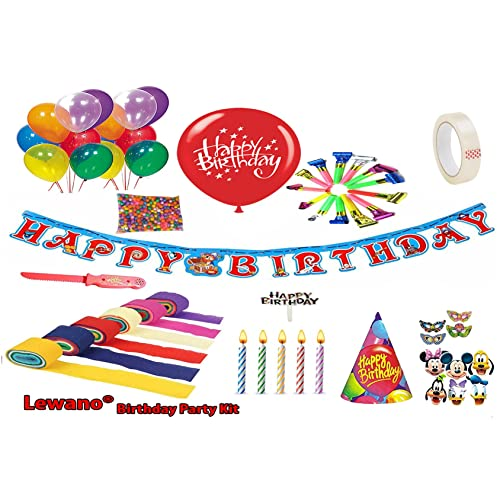 Lewano Birthday Occassion Full Room Decoration KitMulticolour
