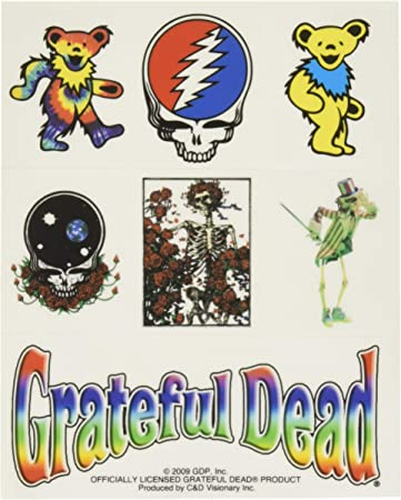 Grateful Dead Dancing Bears Die Cut Vinyl Sticker