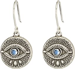 Alex and Ani - Evil Eye Hook Earrings