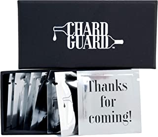 Chard Guard | Beverage Bottle Stoppers | Birthday Gift | Gag Gifts | 100% Reusable Food Grade Latex | Set of 8