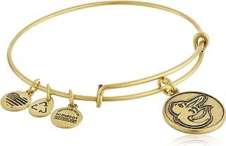 Alex and Ani Baltimore Orioles Cap Logo Expandable Bangle Bracelet