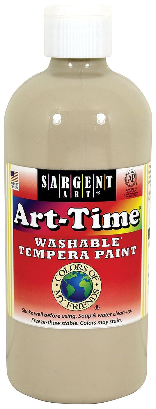 Sargent Art 17-5807 16 oz Beige Multicultural Washable Tempera Paint
