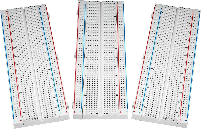 Breadboard Solderless Prototype PCB Board 3 BB-017 40% OFF Cheap Sale ALLUS – 2021 new
