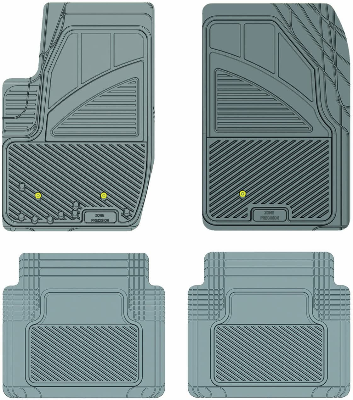 Koolatron Pants Saver Custom Fit 4 Car for All Weather Piece Milwaukee Mall Mat Ranking TOP6