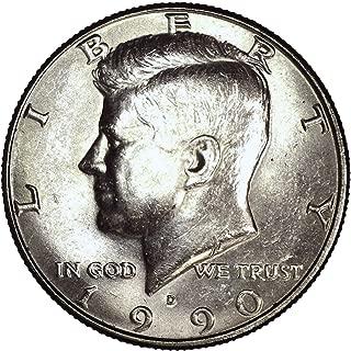 1990 D Kennedy Half Dollar 50C Brilliant Uncirculated