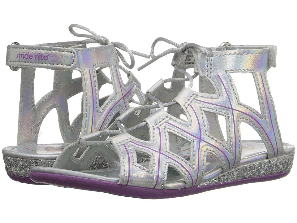 Stride Rite Disney(r) Frozen Sandal (Toddler/Little Kid) (Silver/Purple) Girls Shoes