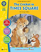 The Cricket in Times Square - Novel Study Guide Gr. 3-4 - Classroom Complete Press
