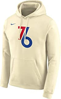 Phila 76ers 2019-2020 Men's NBA City Edition Club Pullover Hoodie